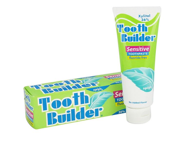 Sensitive tooth builder