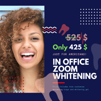 Zoom whitening 4th of july
