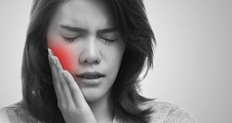 Sensitive tooth pain
