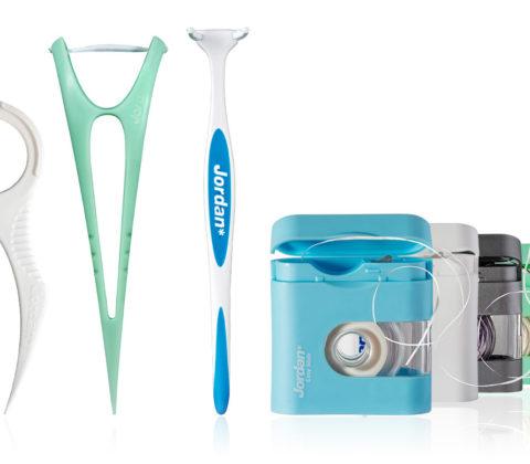 Various dental floss brands