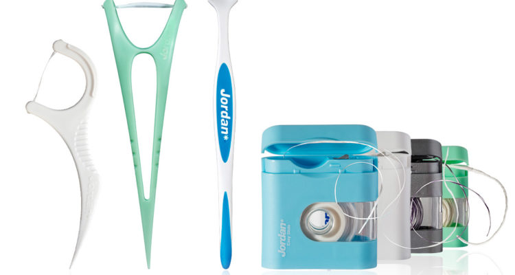 Various dental floss brands