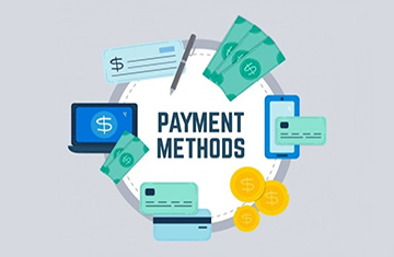 Payment methods banner