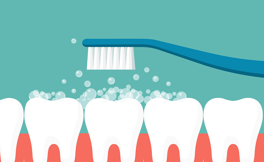 Brushing teeth regularly